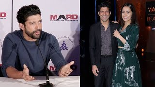 Farhan Akhtar On Live in Relationship With Shraddha Kapoor