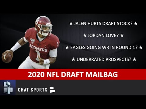 NFL Draft Mailbag On Jalen Hurts, Denzel Mims, Jordan Love, Underrated & Overrated Draft Prospects