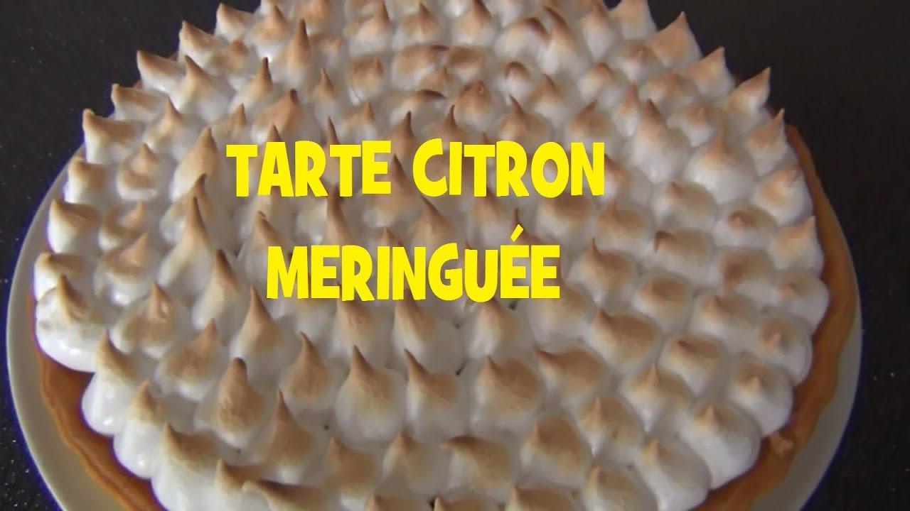 Tarte citron meringuee facile et rapide youtube - Tarte aux citrons meringuee facile ...