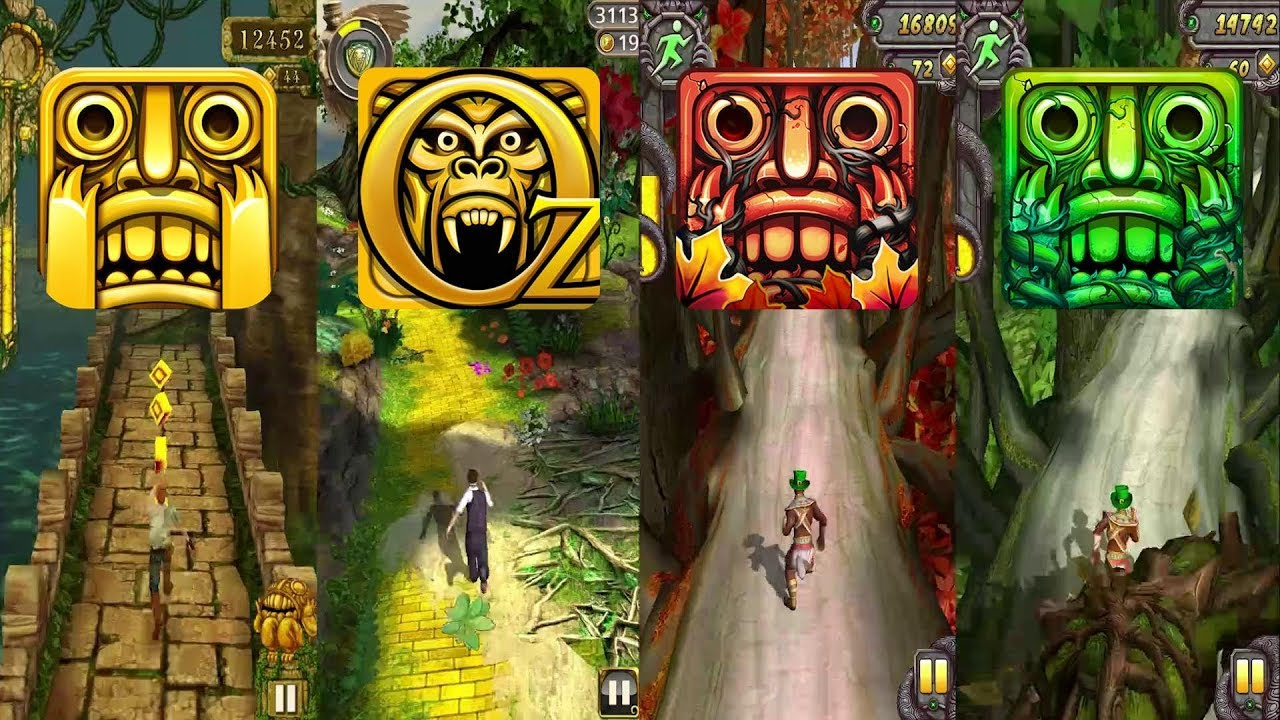 Endless run jungle lost offline games for iPhone