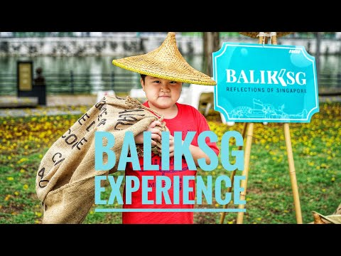 Baliksg app - An interactive walk down Singapore River with AR!