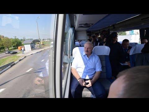 Александр Лукашенко проинспектировал