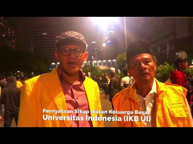 Pernyataan Sikap Ikatan Keluarga Besar Universitas Indonesia