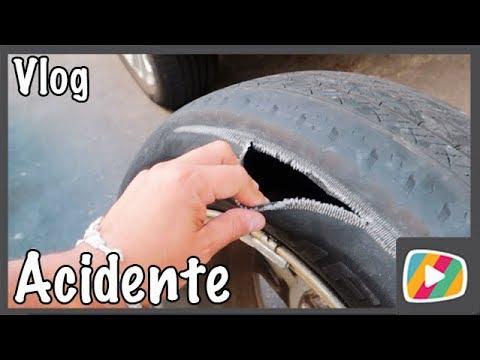 O pneu rasgou