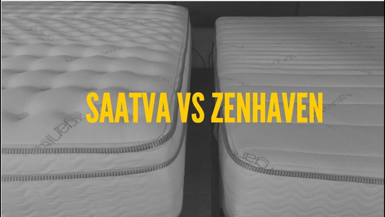 saatva vs zenhaven mattress clarity - Saatva Mattress