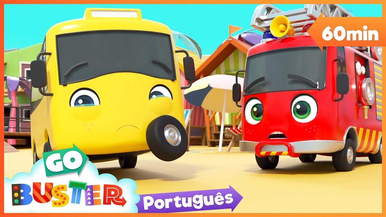 Download Sorvete e castelos de areia   Canções Infantis   Desenhos Animados   Buster em Português