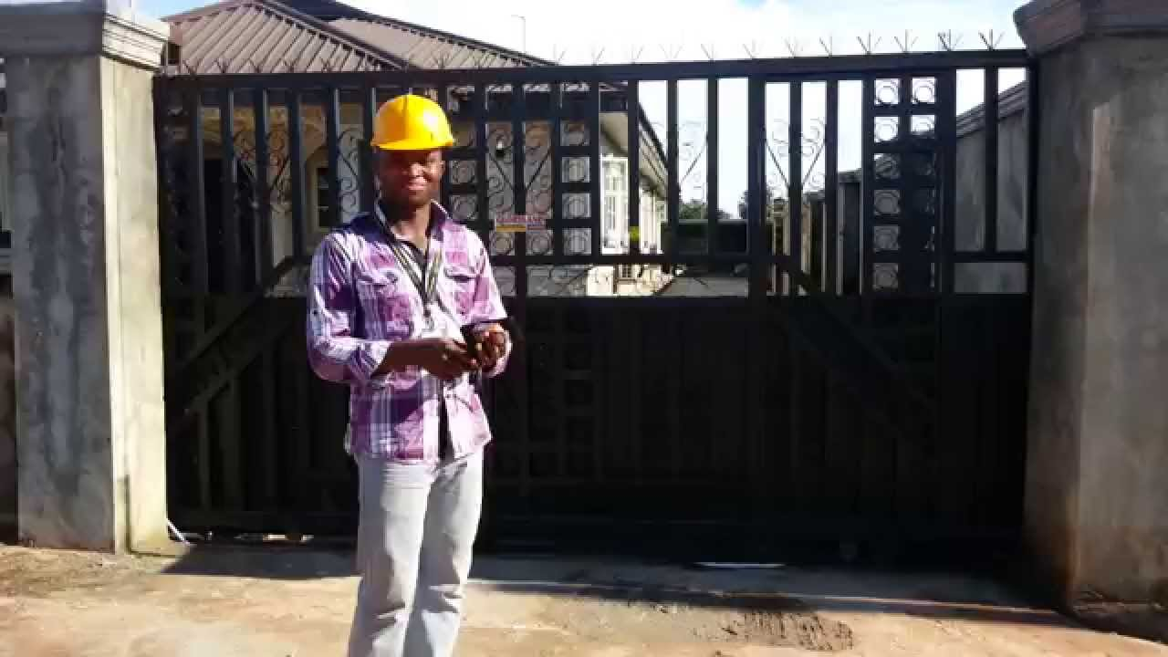 Automated slide gate commisioning in benin nigeria watch this