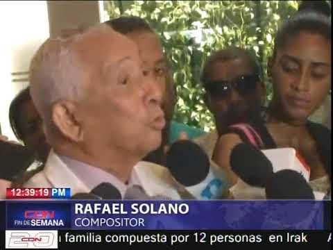 Cientos asisten a velatorio del merenguero Joseíto Mateo