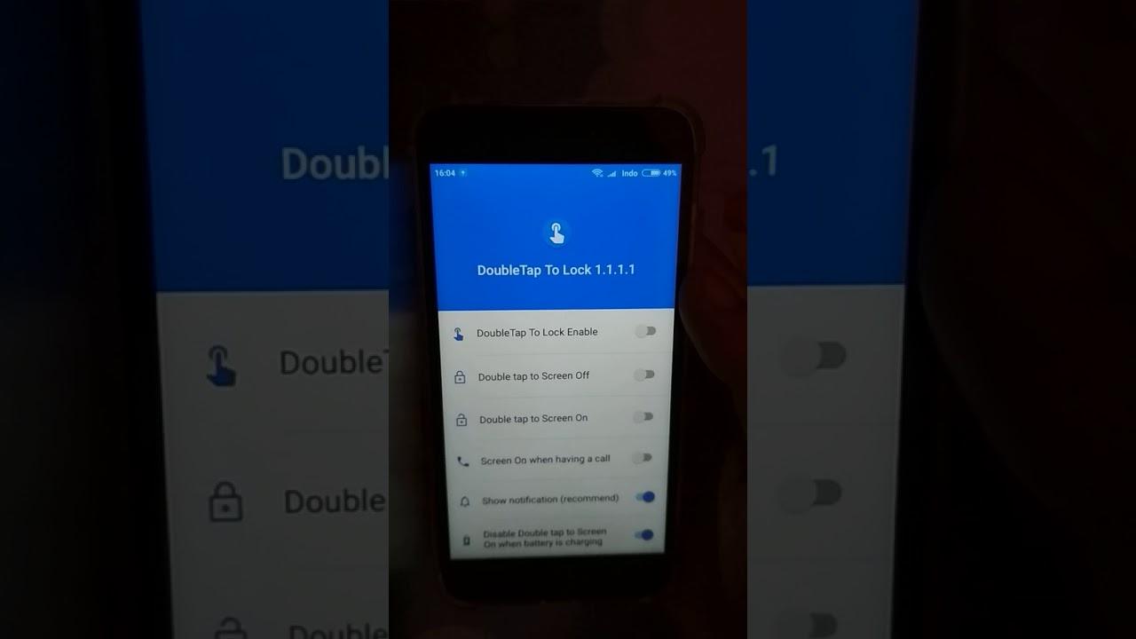 Cara Mengaktifkan Double Tap Screen Ketuk Layar Double Tanpa Root