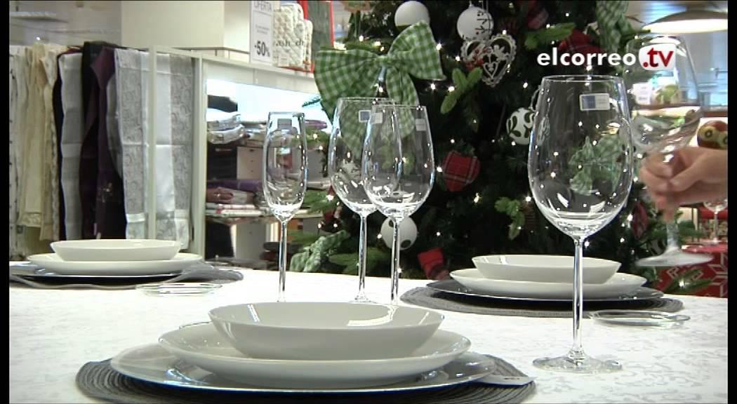 Mesa Comida Navidad