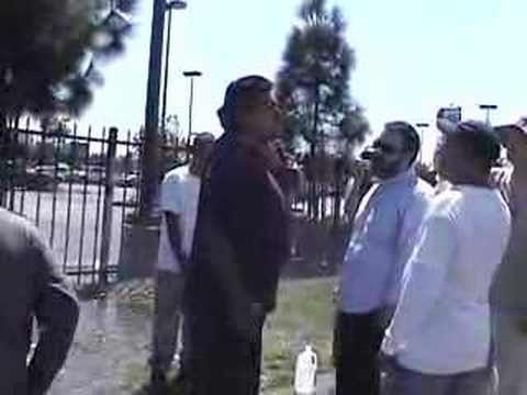 NMI gets attacked at the Van Nuys Home Depot 9-2-07 Part 6