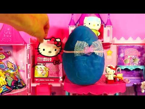 c58ad2743 EGGS FROZEN BARBIE HELLO KITTY PLAY DOH MY LITTLE PONY DISNEY PRINCESS ZELF  Kinder Surprise Egg