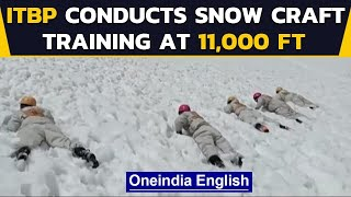 ITBP conducts snow craft training in extreme cold conditions, watch the video | Oneindia News
