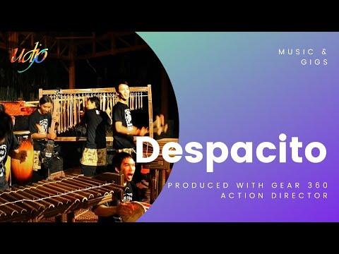 Despacito - (Cover by Saung Angklung Udjo)
