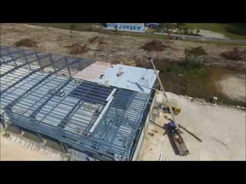 Bahamas Steel Building Warehouse Project