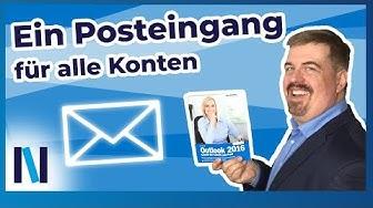 Ein Posteingang für mehrere E-Mail Konten? So organisierst du Schritt für Schritt dein Outlook!