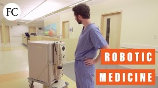 At This Fake Hospital, Linen-Schlepping Droids, Robo-Patients, And The Future Of Medicine