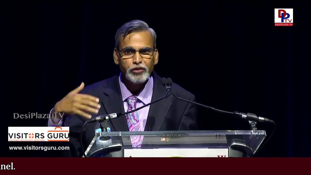 Kamalesh Lulla, NASA Scientist excellent speech at World Telangana Convention 2018 - ATA Telangana