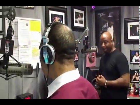 Pure House Music Artist D-Train Live On The Chris Brown Show @ Power 88 KCEP Las Vegas 9.25.12