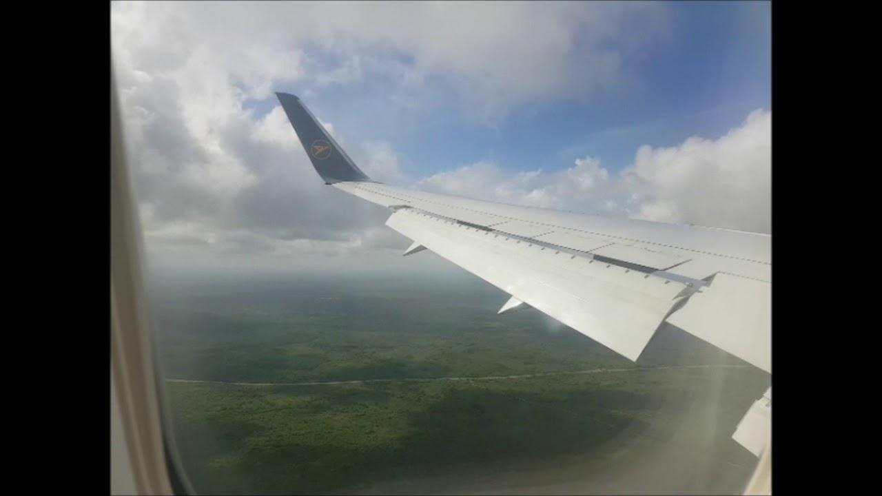 Condor Boeing 767 300er Flug Von Frankfurt Nach Punta Cana Youtube