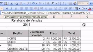 Aula 04 - Excel 2003 - FUNÇÕES SOMA( )...