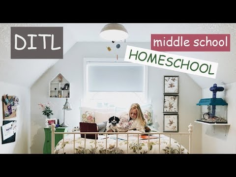 {A Day In the Life} | HOMESCHOOL ~Middle School~