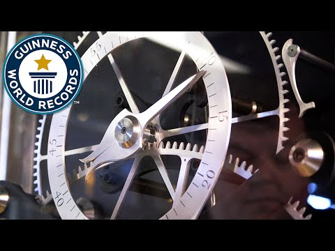 Amazingly accurate clock finally recognised after 300 years - Guinness World Records