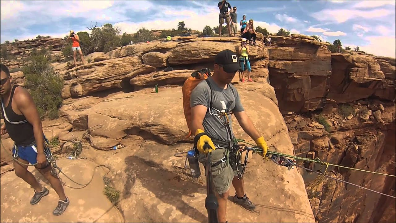 Worlds Largest Canyon Rope Swing