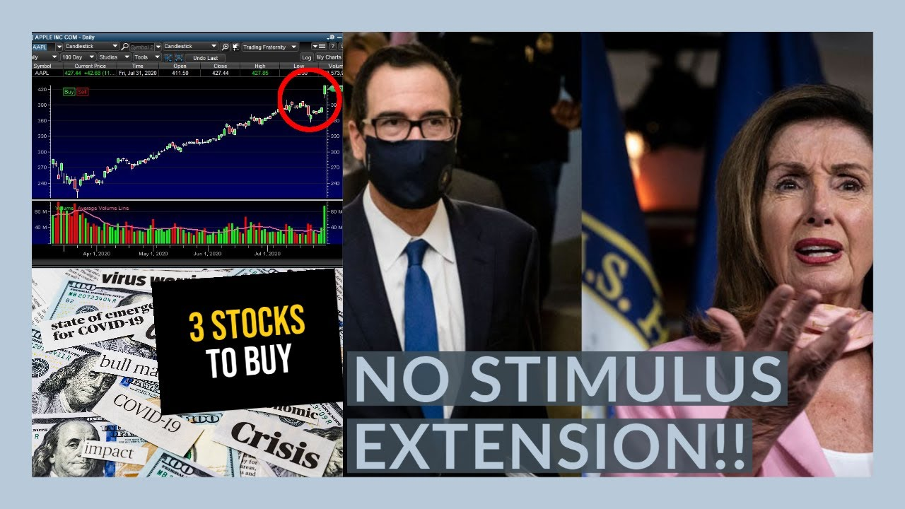 THE STOCK MARKET IS GOING TO GO CRAZY THIS WEEK! - My Watchlist   STOCKS TO BUY NOW - STIMULUS TALKS