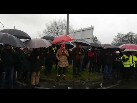 Nueva movilización de los trabajadores de Endesa en As Pontes