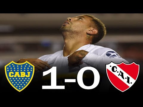 Independiente vs Boca (0-1) | Resumen completo -  Fecha 14 de la Superliga