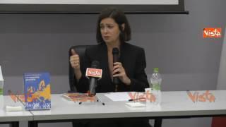 """Laura Boldrini: """"L'Europa ci ha dato la pace, basta pessimismo"""""""