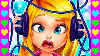 Мультик про рок-группу девочек. Концертный переполох! Веселый детский мультфильм.