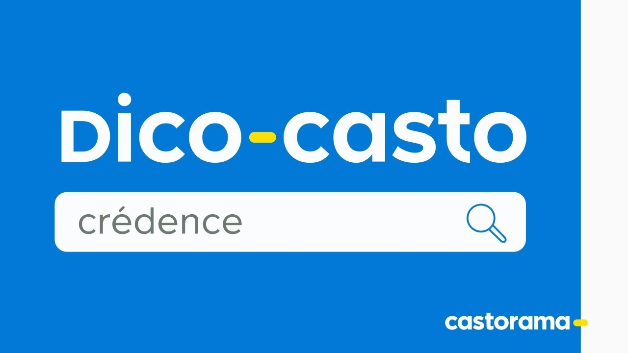 Dico Casto : La crédence - Castorama - YouTube