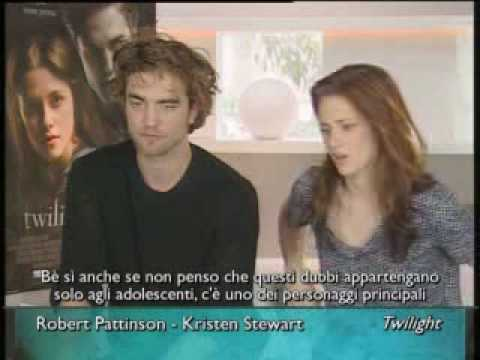 Twilight - Interview with Kris and Rob *ROME FILM FESTIVAL*