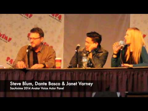 SacAnime 2014 Avatar The Last Airbender Panel With Dante Basco, Steve Blum & Janet Varney!