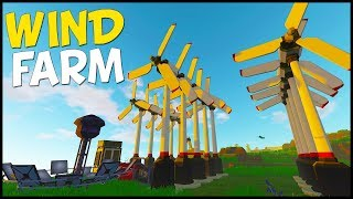 MASSIVE WIND FARM to POWER LASERS! - Eco World Survival #11