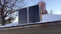How many kWh can 200watt solar panel produce in a day?
