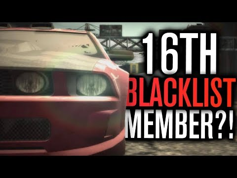 THE 16TH BLACKLIST MEMBER?! | Need For Speed Most Wanted