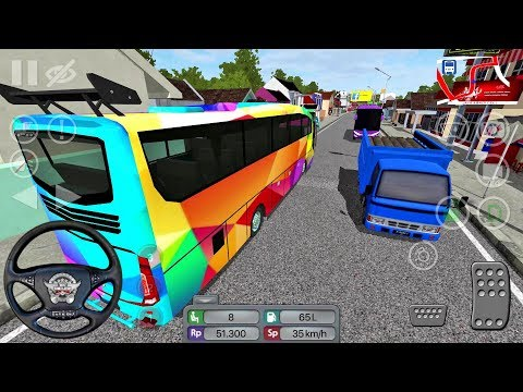 Bus Simulator Indonesia #20 BUSSID - Bus Game Android gameplay
