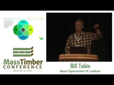The Obstacles from Concept through Delivery - Bill Tobin, Lendlease