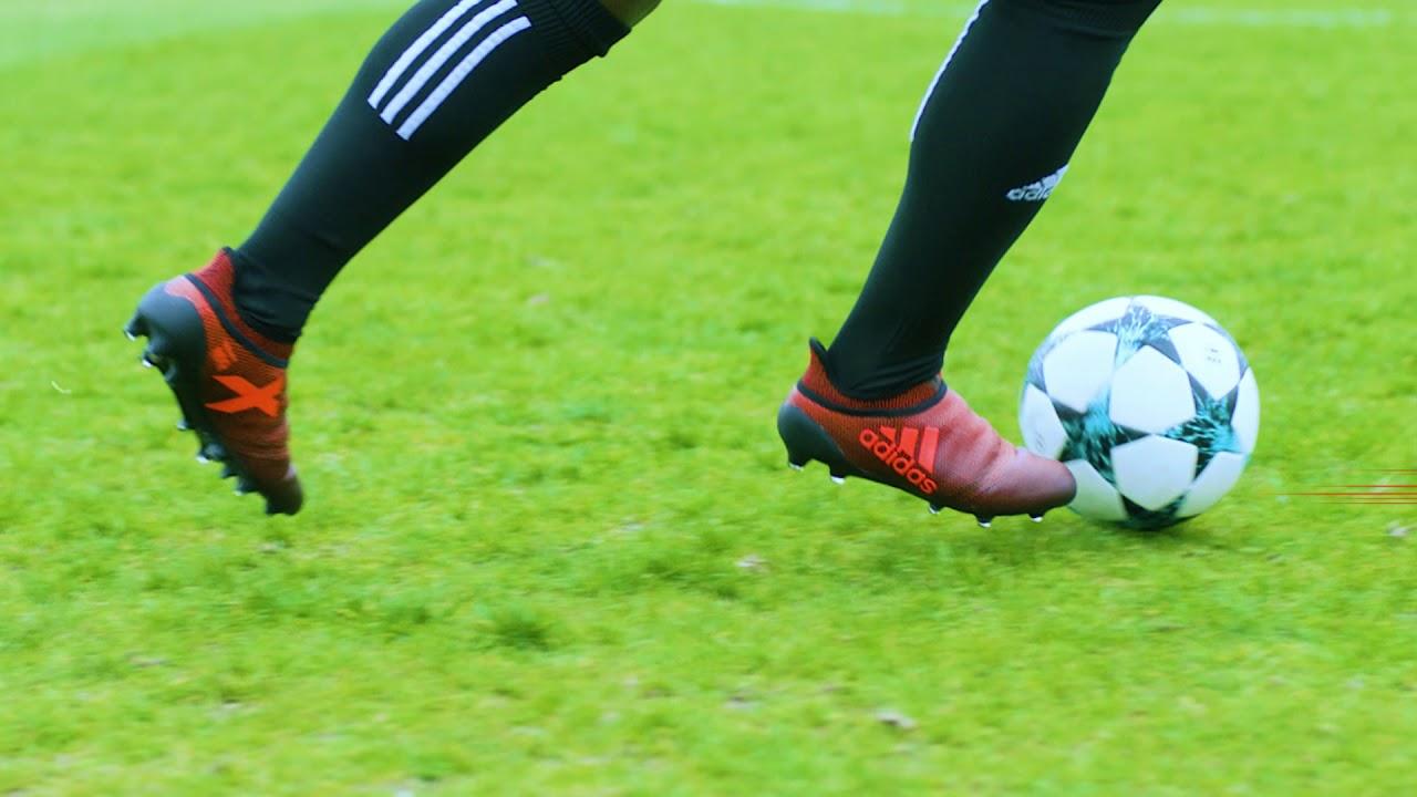 Botas de Fútbol Adidas X 17+ Fci FG Pyro Tormenta Pack