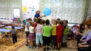 Открытый урок у Сени в садике 3. Осень 2013
