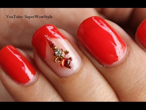 Diwali Nail Art: Superwowstyle - Bindi Nail Designs | No Tools Nail Art -  YouTube - Diwali Nail Art: Superwowstyle - Bindi Nail Designs No Tools Nail