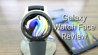 Galaxy Watch Digital/Analog Watch Face Review
