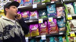 Trying to buy Viagra and Playboys at the Grocery Store prank
