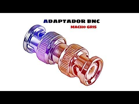 Video de Adaptador BNC macho  Gris