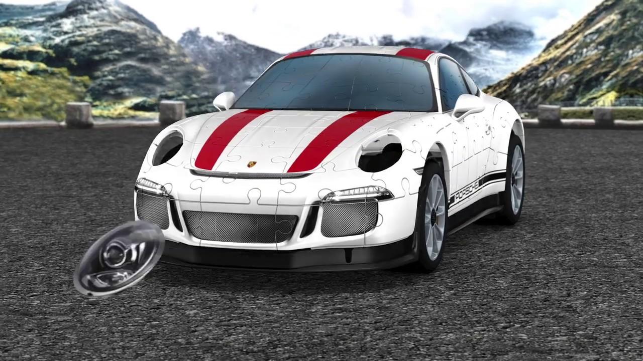 9bce7938d Ravensburger 3D Puzzle - Porsche 911R - YouTube