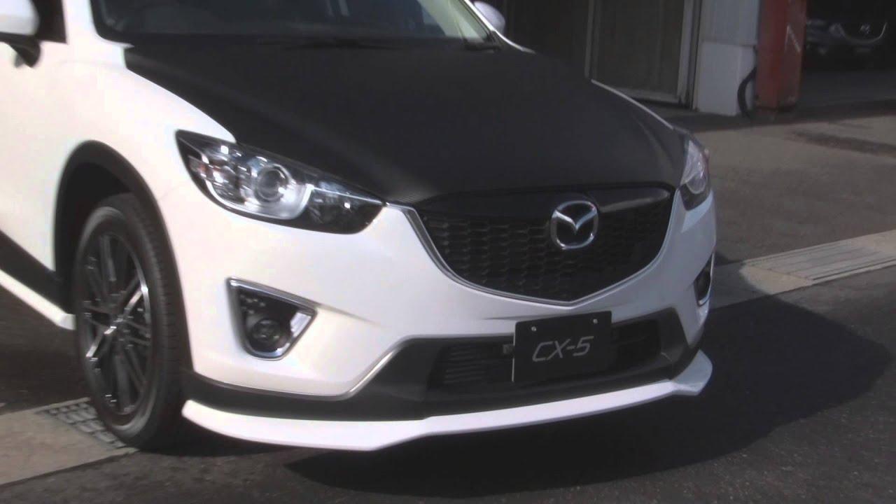 Exterior Mods On White Cx 5 Mazdas247 Youtube