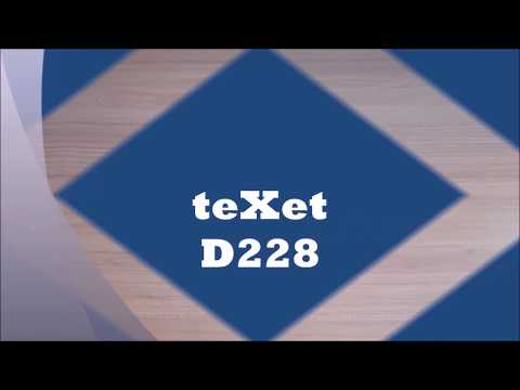 Обзор телефона TeXet-D228!!!